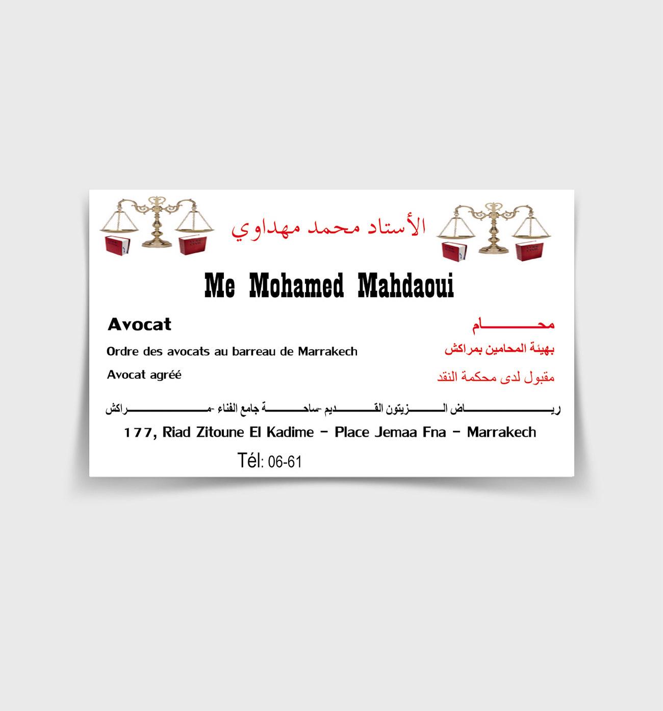 Me Mohammed Mahdaoui Avocat
