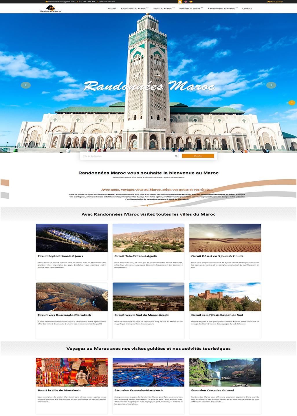 Randonnées Maroc